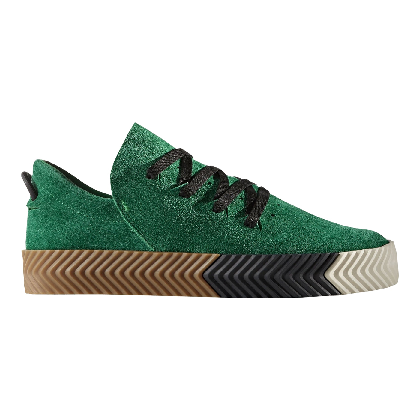 3eeafd5e779 Adidas AW Skate Alexander Wang Style  BY8907 Green White ...