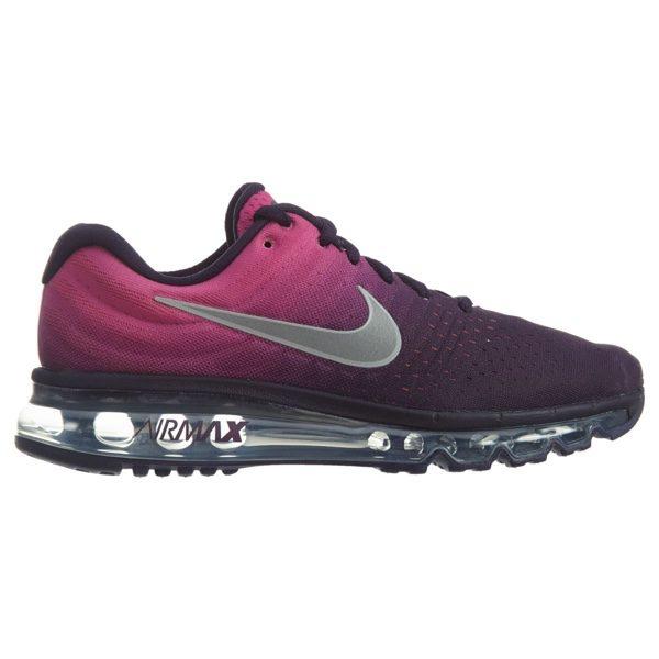 separation shoes e2d9f 0e583 Boys' Grade School Nike Air Max 2017 Running Shoes 851623-500