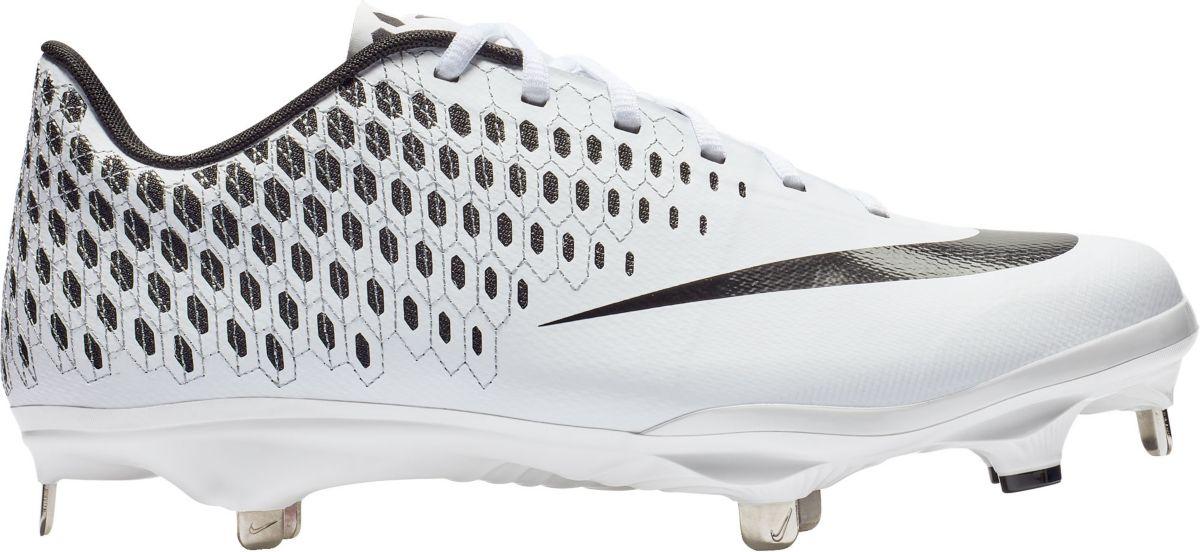"012b6d41146c Nike Lunar Vapor Ultrafly Elite 2 Baseball Cleats ""Pure Platinum ..."